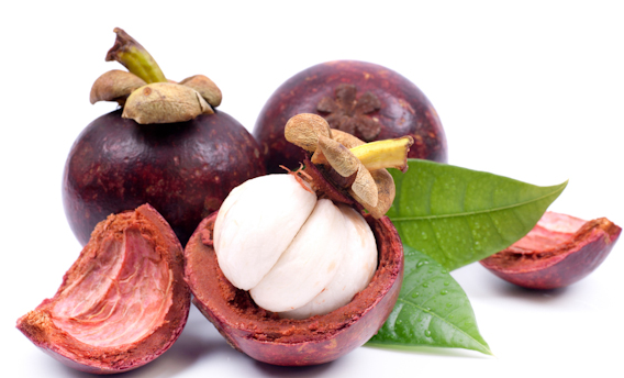 how to eat mangosteen peel